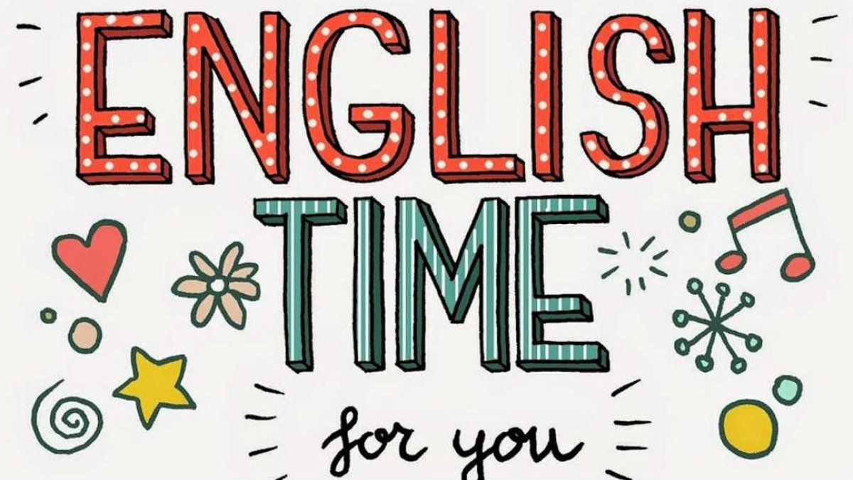 English английский